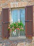 意大利视窗 库存照片
