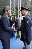 167th Anniversary of the Italian Police. Public ceremony