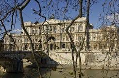 意大利语判决撤销最高法院  图库摄影