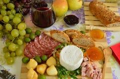 意大利语的干酪 免版税库存照片
