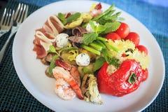 意大利语的开胃小菜 免版税图库摄影