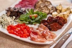 意大利语的开胃菜 免版税图库摄影