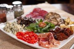 意大利语的开胃菜 库存图片