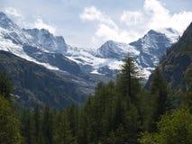 意大利语的阿尔卑斯 免版税图库摄影