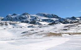 意大利语的阿尔卑斯 库存图片