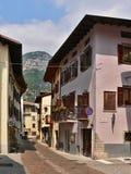 意大利走道在名护Torbole 库存图片