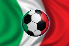 意大利足球 免版税库存照片