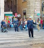 意大利路警察 库存图片