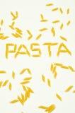意大利通心粉意大利面食 库存照片