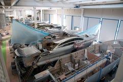 意大利造船厂 免版税库存照片