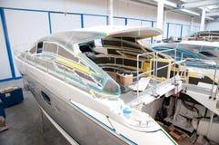 意大利造船厂 图库摄影