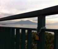 意大利那不勒斯vesuvio火山 免版税库存图片