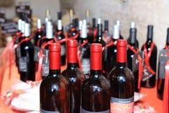 意大利酒 库存图片