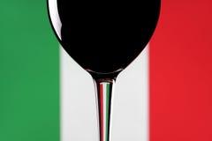 意大利酒 库存照片