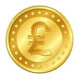 意大利里拉货币与星的金币 在空白背景查出的向量例证 编辑可能的元素和强光 向量例证