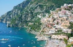 意大利里维埃拉 免版税库存照片