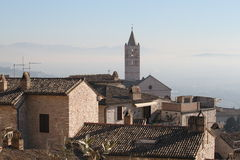 Assisi在2月 免版税库存照片