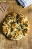 意大利长草的面包 库存照片