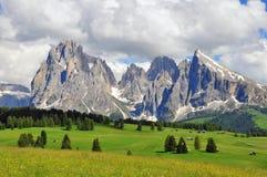意大利阿尔卑斯 免版税库存图片