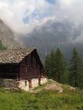 意大利阿尔卑斯; Val Vogna 库存照片