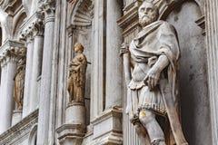 意大利雕象 库存照片