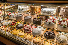 意大利面包店 免版税库存照片