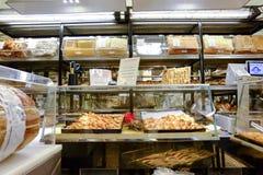 意大利面包店 免版税库存图片