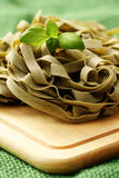 意大利面食丝带 免版税库存图片