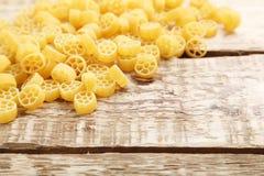 意大利面食堆 免版税库存照片