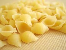 意大利面食壳 库存照片
