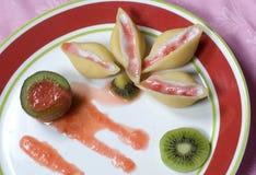 意大利面食壳 图库摄影