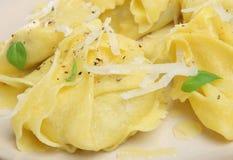 意大利面食意大利式饺子 库存照片