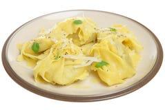 意大利面食意大利式饺子 免版税库存图片