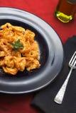意大利面食意大利式饺子 免版税库存照片