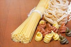 意大利面食意粉多种分类 库存照片