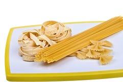 意大利面食收集 库存图片