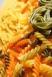 意大利面食种类 免版税库存照片