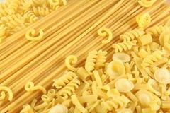 意大利面食键入多种 免版税库存图片