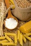 意大利面食麦子 免版税库存图片