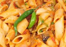 意大利面食素食者 免版税库存照片