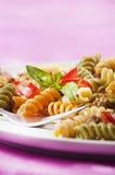 意大利面食primavera 库存照片