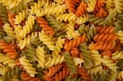 意大利面食rotini 库存照片