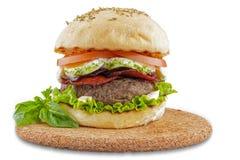 意大利食家汉堡包 库存照片
