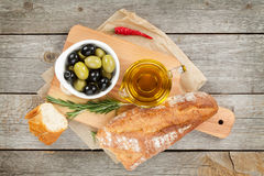 意大利食物开胃菜 图库摄影