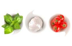 意大利食物标志 免版税库存图片