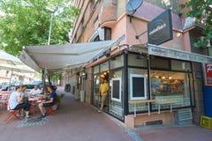 意大利食物酒吧 免版税图库摄影