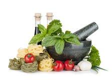意大利食物 库存照片