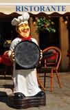意大利餐馆 免版税库存图片