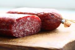 意大利香肠 免版税库存图片