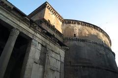 意大利,万神殿在罗马 免版税库存照片